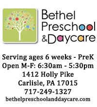 Sponsor: Bethel Preschool & Daycare