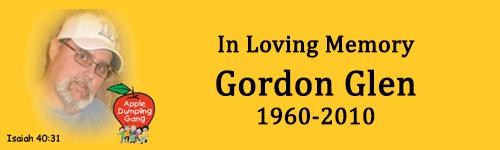 In Loving Memory - Gordon Glen